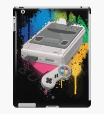 Gaming console splatter iPad Case/Skin