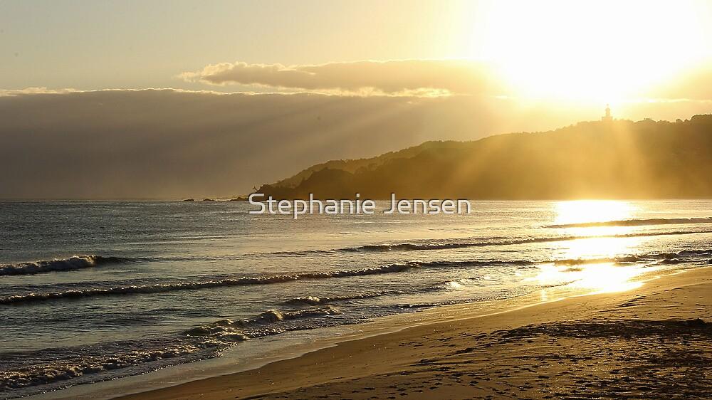 Byron Bay Main Beach by Stephanie Jensen