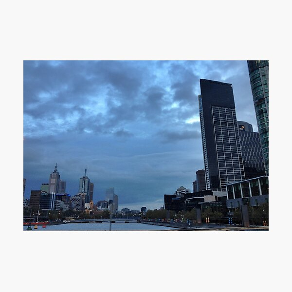 Melbourne, Autumn 2012 Photographic Print