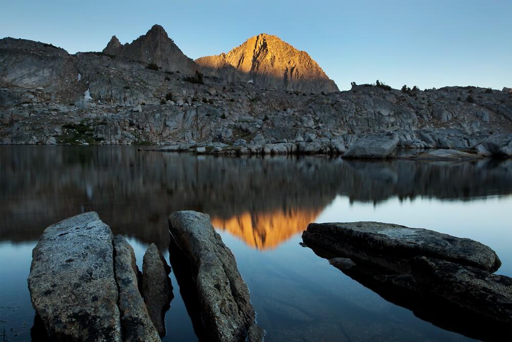 Columbine Peak, Sierra Nevada by Scott Sawyer
