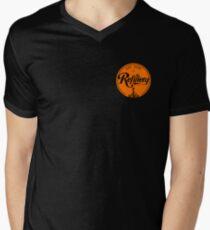 TR 2012 T-shirt #1 Orange Small Men's V-Neck T-Shirt