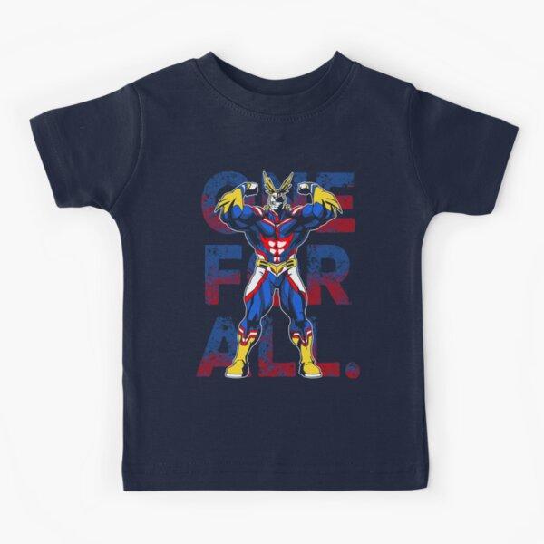 Un pour tous pourrait être mon héros Academia T-shirt enfant
