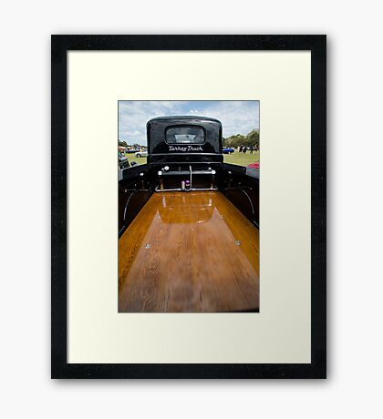 Turkey Truck Framed Print