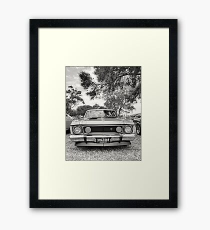 XW GT Framed Print