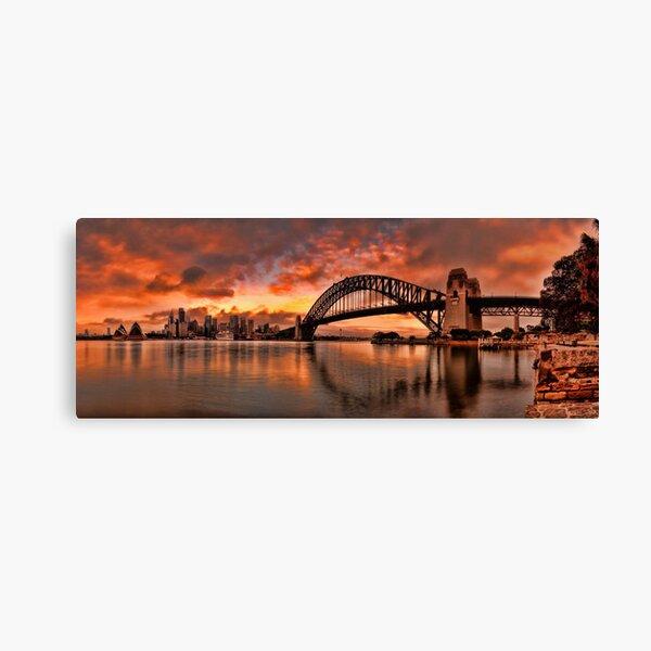 Kirribilli Sunrise - Panorama Canvas Print