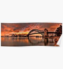 Kirribilli Sunrise - Panorama Poster