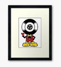 Vinyl Richie Framed Print