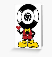 Vinyl Richie Greeting Card