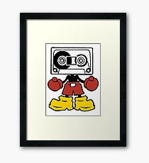 Mix-Tape Framed Print