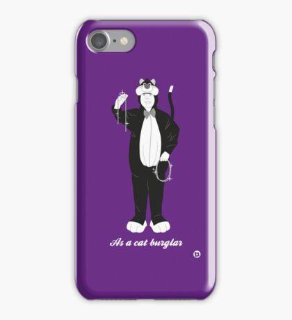 Hitch as a cat burglar iPhone Case/Skin