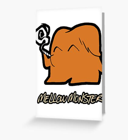 Mellow Monster Greeting Card