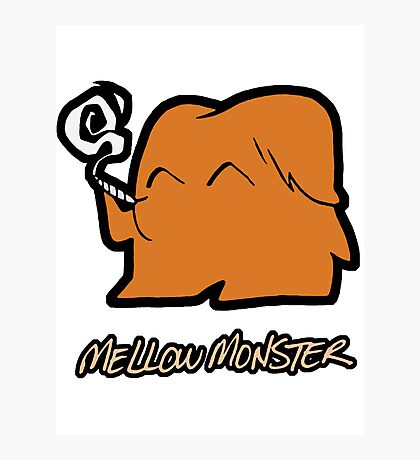 Mellow Monster Photographic Print