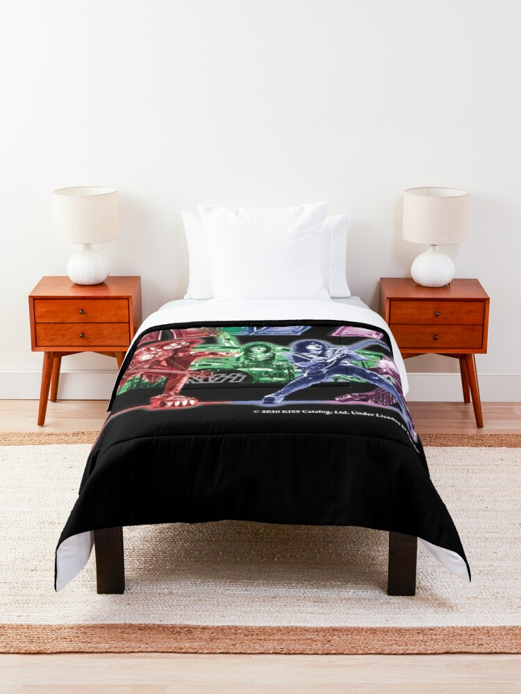 Alternate view of KISS band Comforter