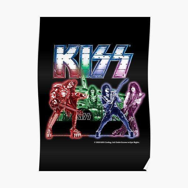 KISS band Poster