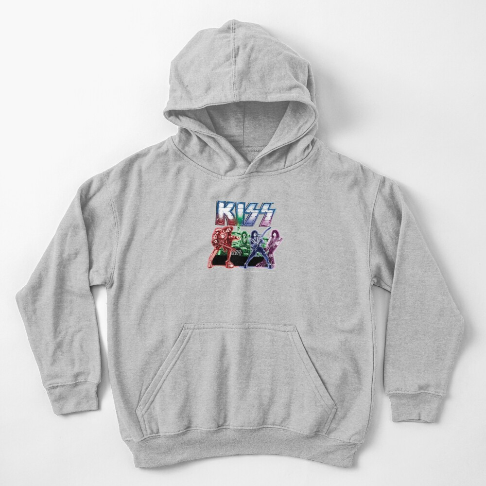 KISS band Kids Pullover Hoodie
