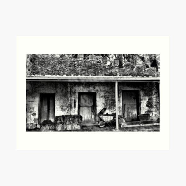 The Stables - Wynstay - Mt Wilson NSW Art Print