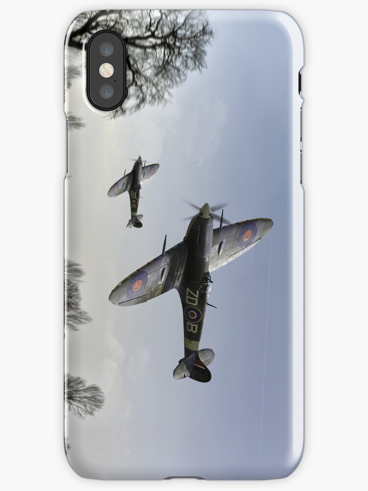 Boys will be boys: low-flying Spitfires by Gary Eason