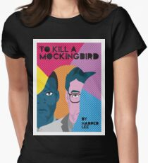 To Kill A Mockingbird PopArt Women's Fitted T-Shirt