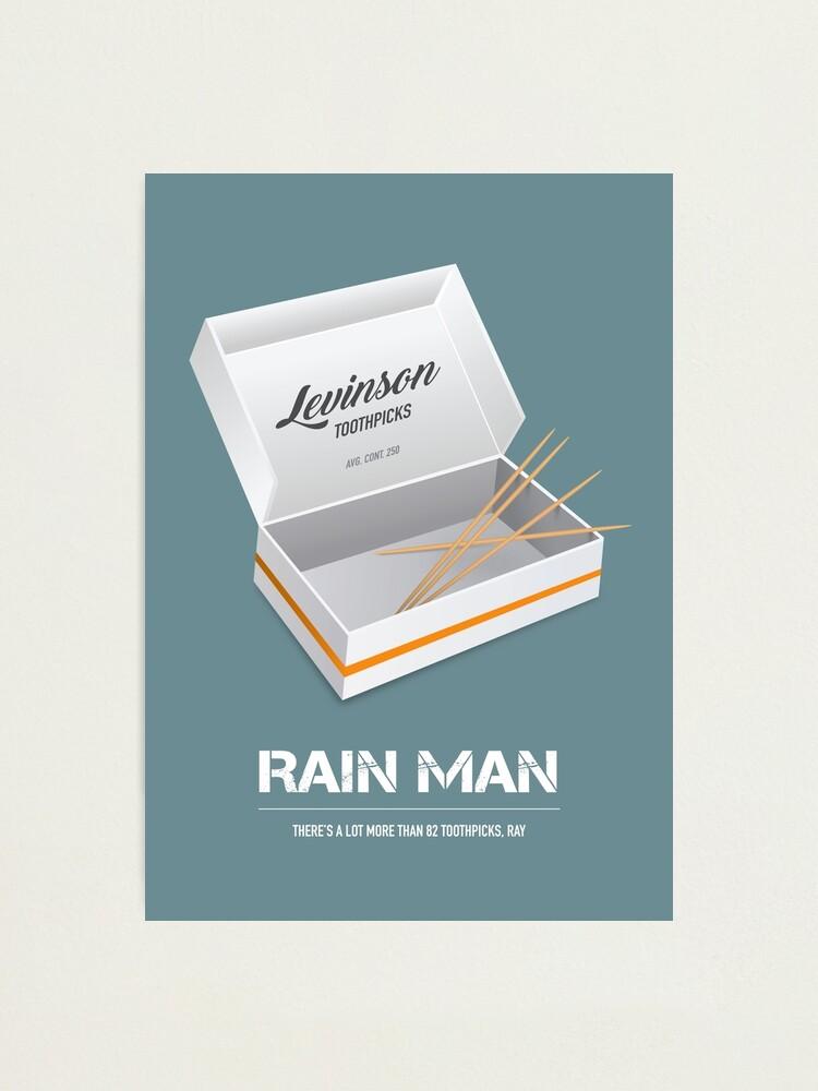 Alternate view of Rain Man - Alternative Movie Poster Photographic Print