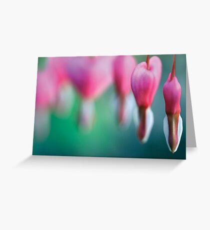 Dicentra spectabilis Greeting Card
