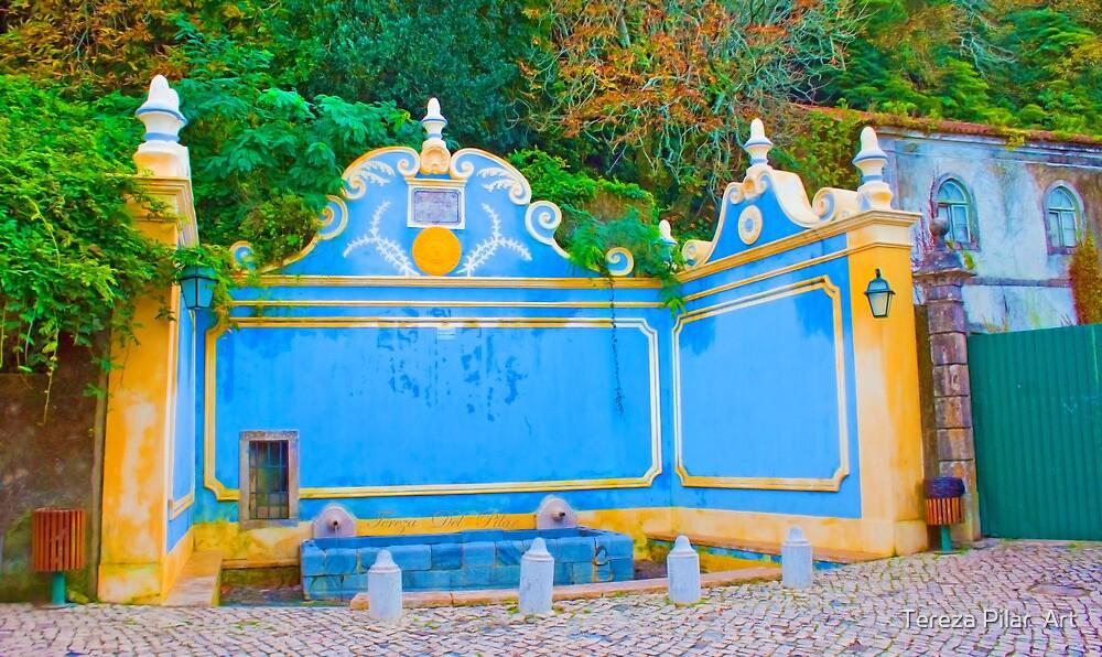 Fonte da Sabuga. Sintra. fontanário by terezadelpilar ~ art & architecture