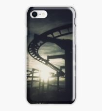 Roller Coaster Silhouette  iPhone Case/Skin