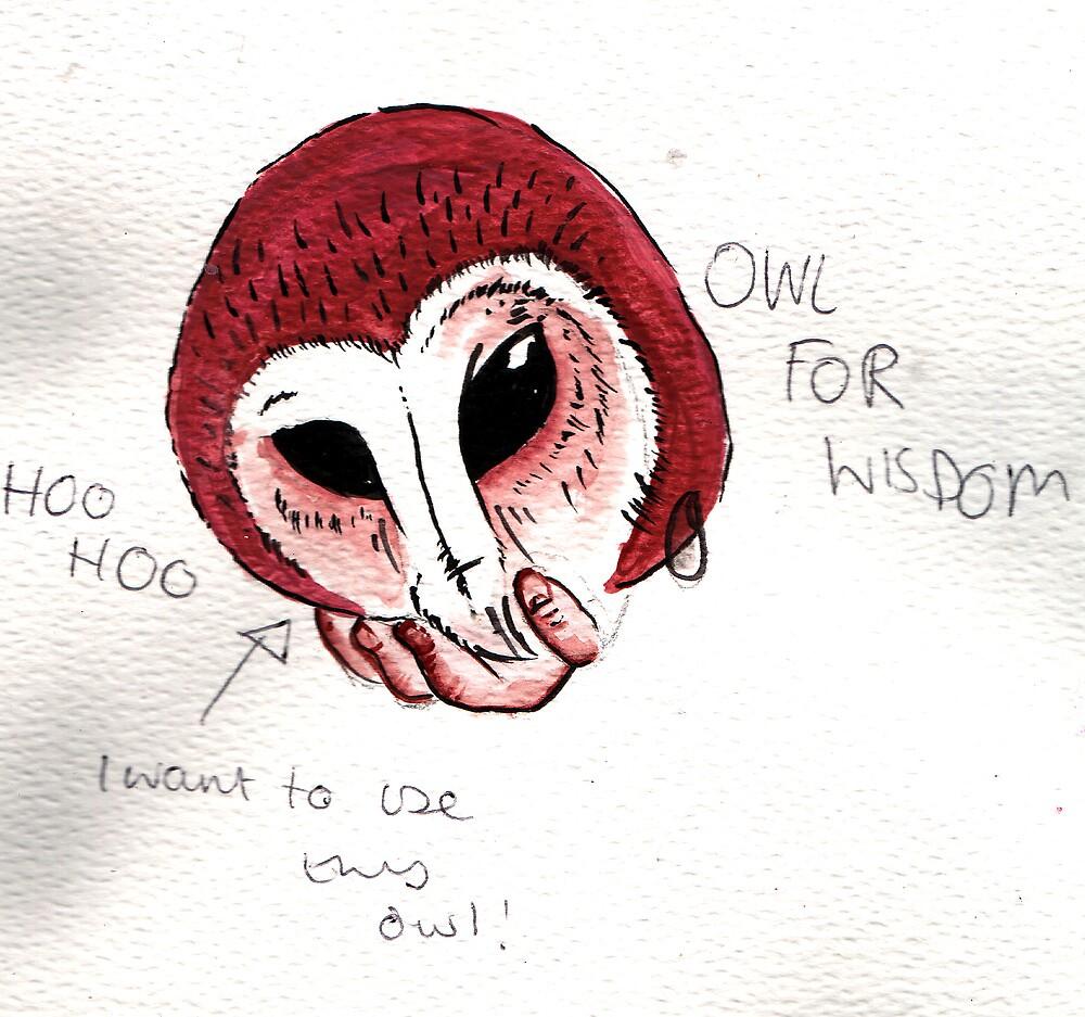 Basic owl design by FAITH IS NOT PROOF