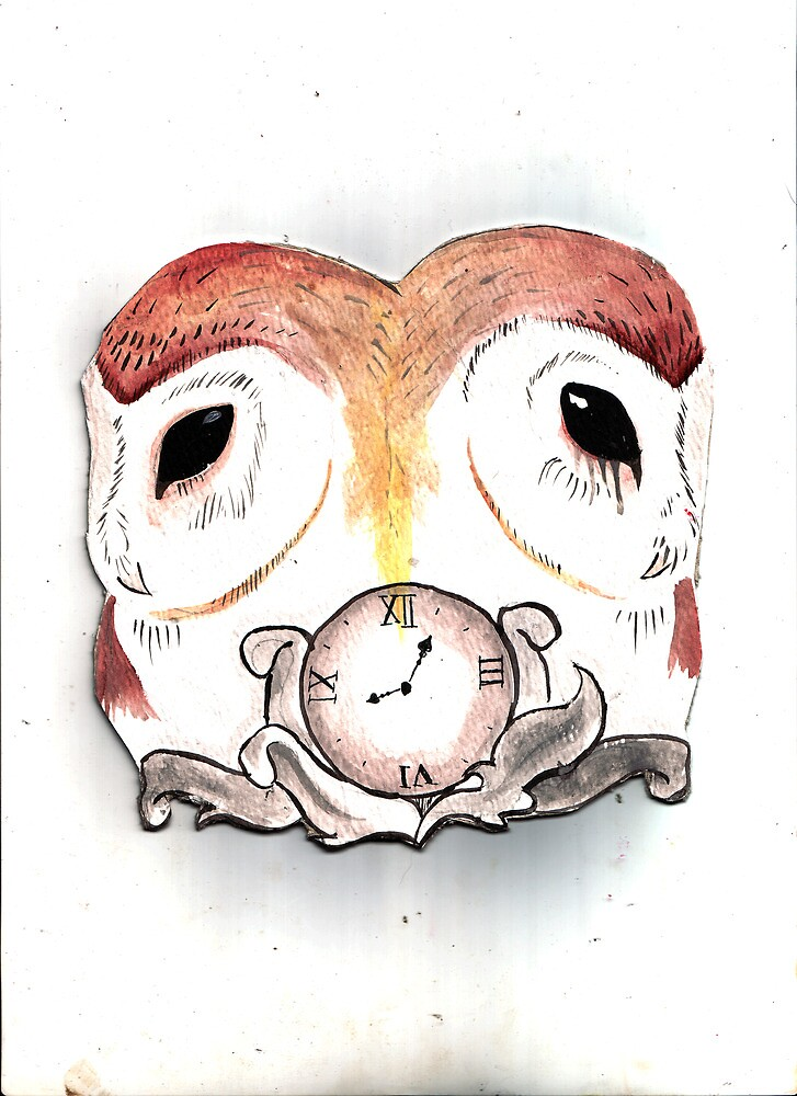 Siamese Owl by FAITH IS NOT PROOF