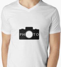 Photo camera Men's V-Neck T-Shirt