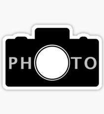 Photo camera Sticker