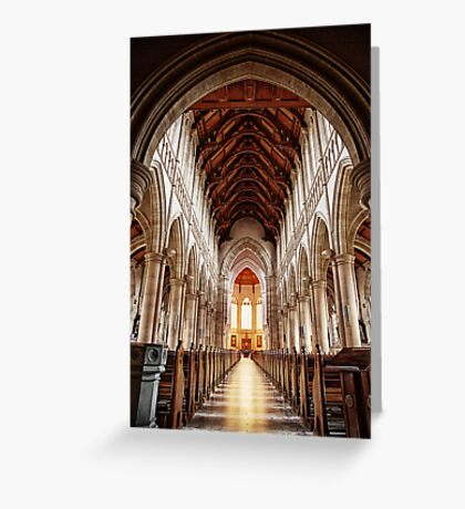 Sacred Heart Cathedral, Bendigo Greeting Card