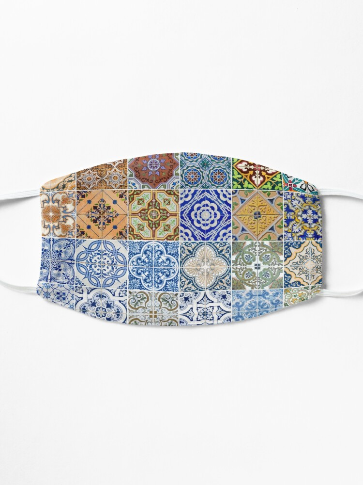 Alternate view of Set of 48 ceramic tiles patterns Mask