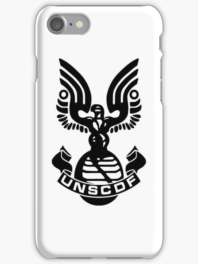 UNSC Halo Case by charalanahzard