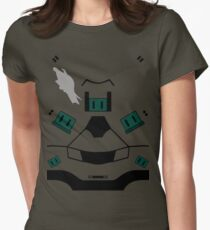 Master Chief Halo 4 Armour Women's Fitted T-Shirt