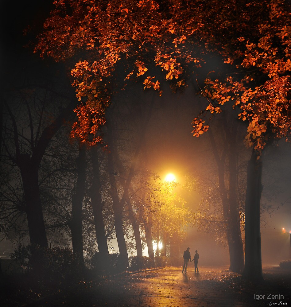 Evening Stroll by Igor Zenin