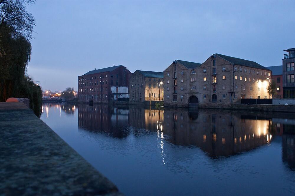 Wakefield Wharfside by Dave Evans