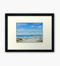 Studland beach Framed Print