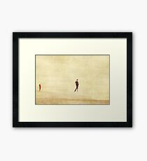 People Framed Print