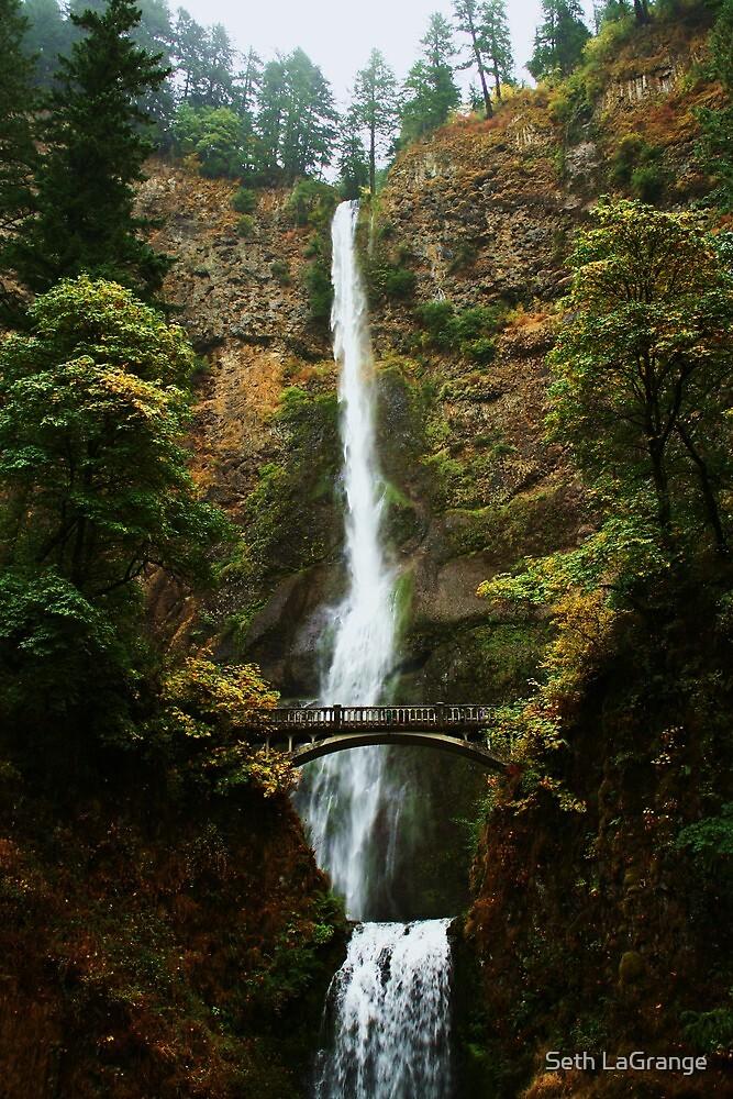 Multnomah Falls by Seth LaGrange