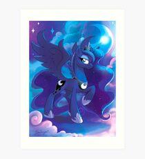 Prinzessin Luna Kunstdruck