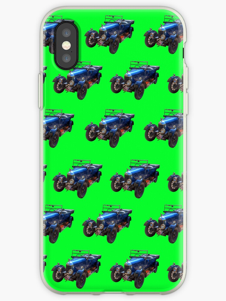 Classic Car 02 iPhone Case by ManateesDesign