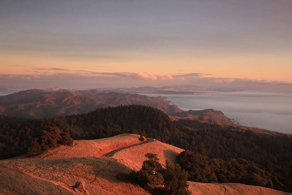 Mt Tamalpais, Marin County by Scott Sawyer