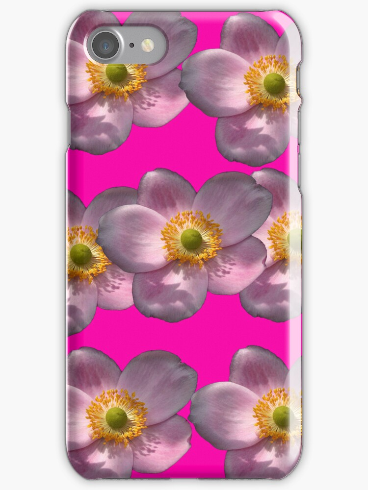 Flower Power Peony 07 iPhone Case by ManateesDesign