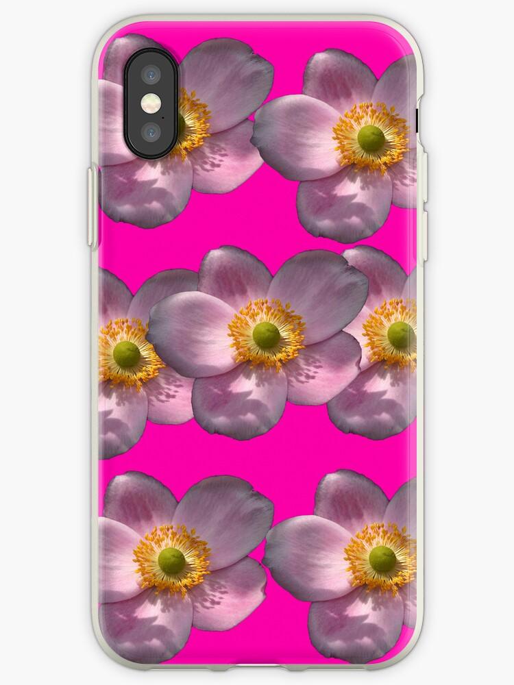 Flower Power Peony 07 iPhone Case by ManateesDesign