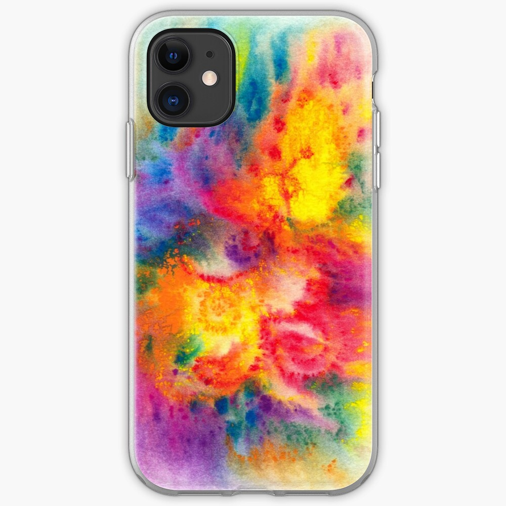 Abstract Phoenix iPhone Case & Cover