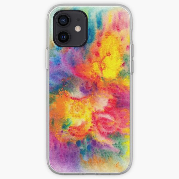 Abstract Phoenix iPhone Soft Case