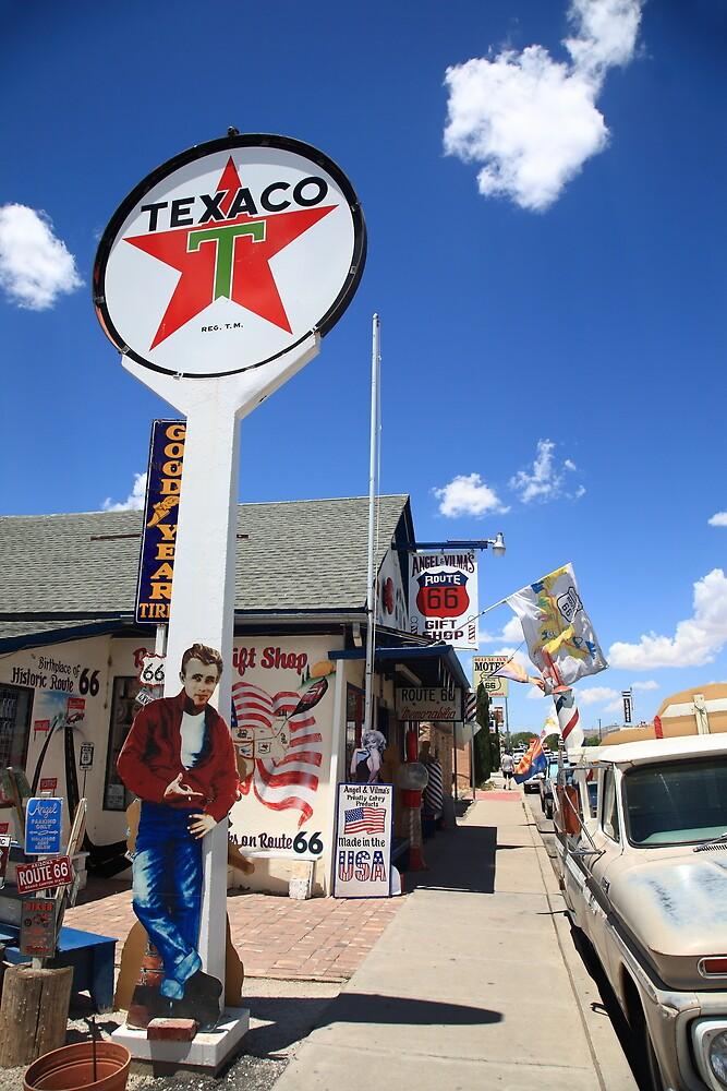 Route 66 - Seligman, Arizona by Frank Romeo