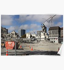 Earthquake Christchurch Poster