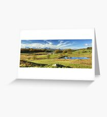 Above Wise Een Tarn Greeting Card