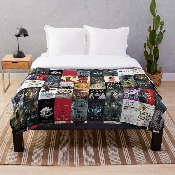 YA young adult fantasy books blanket Throw Blanket